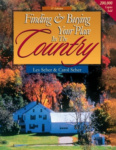 9780793141098: Finding & Buying Your Place in the Country (Finding and Buying your Place in the Country)