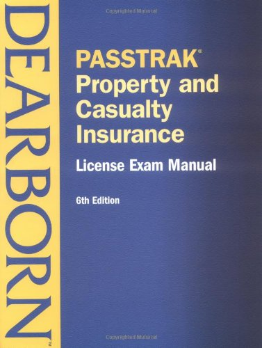 9780793142095: Passtrak Property and Casualty Insurance: License Exam Manual (Passtrak (Unnumbered))