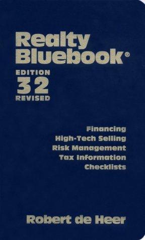 Realty Bluebook: Revised (Realty Bluebook, 32nd Ed): De Heer, Robert