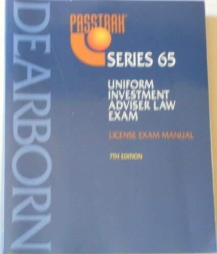 Uniform Investment Adviser Law Exam: License Exam