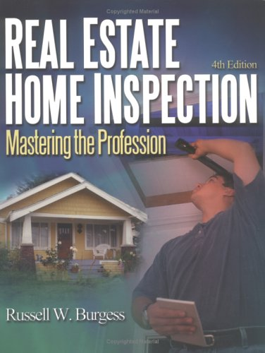 9780793145324: Real Estate Home Inspection: Mastering the Profession