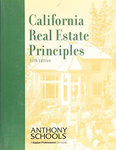 9780793146239: California Real Estate Principles