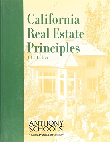 9780793146239: California Real Estate Principles
