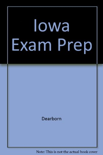 Iowa Exam Prep: Dearborn Staff