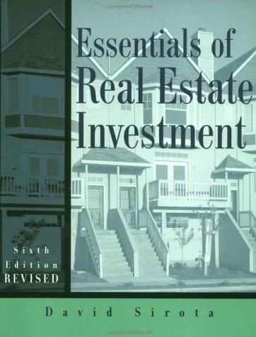 9780793148851: Essentials of Real Estate Investment