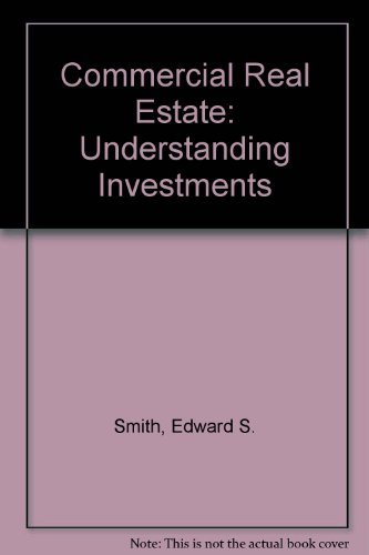 9780793149971: Commercial Real Estate: Understanding Investments
