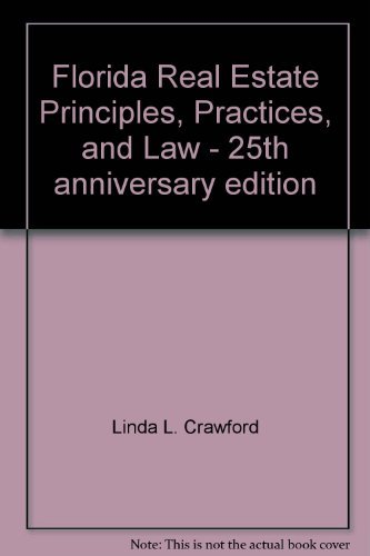 9780793153848: Florida Real Estate Principles, Practices, and Law - 25th anniversary edition