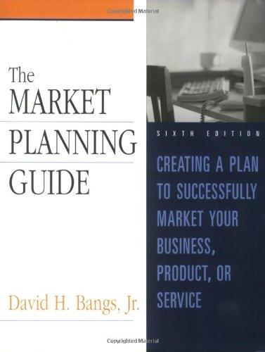 9780793159710: Market Planning Guide