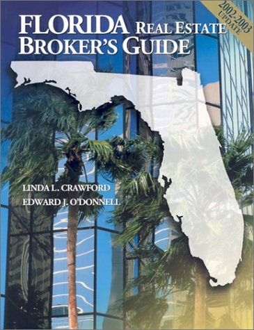 9780793160617: Florida Real Estate Broker's Guide 2002-2003