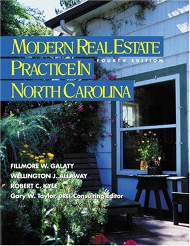 9780793164585: Modern Real Estate Practice in North Carolina