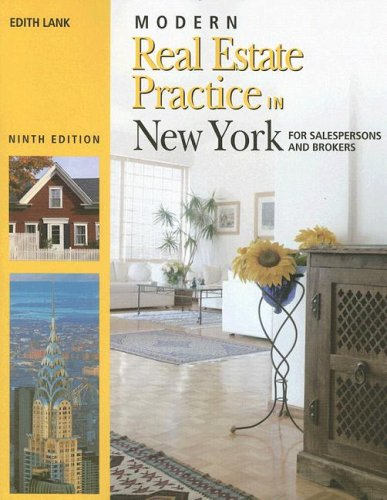 Modern Real Estate Practice in New York (0793167868) by Edith Lank
