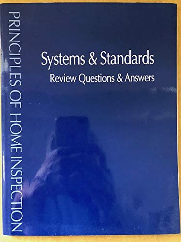 9780793183197: Principles of Home Inspection: Systems & Standards Review Questions & Answers
