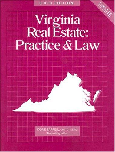 9780793183357: Virginia Real Estate: Practice & Law