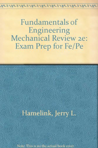 9780793185382: Engineer-in-Training: Mechanical Review
