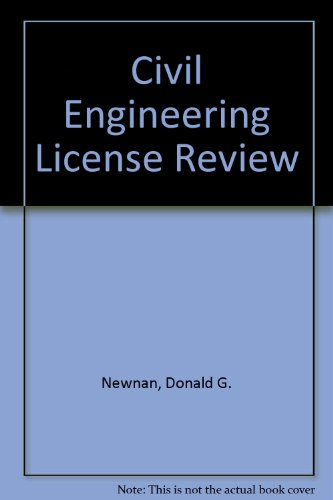 9780793185467: Civil Engineering License Review, 14th Edition