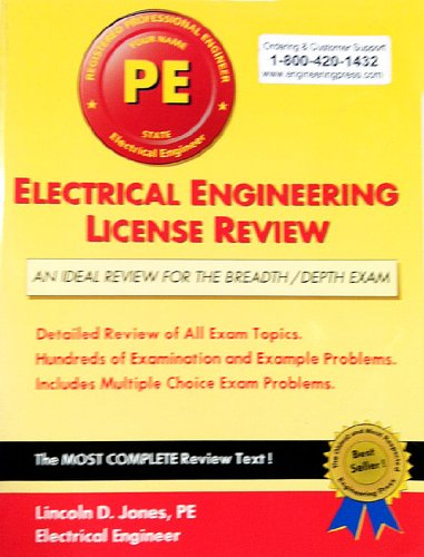 9780793185573: Electrical Engineering License Review, 8th Edition