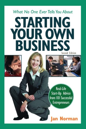 9780793185962: What No One Ever Tells You about Starting Your Own Business: Real-Life Start-Up Advice from 101 Successful Entrepreneurs