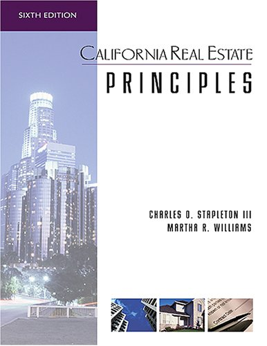 9780793188024: California Real Estate Principles