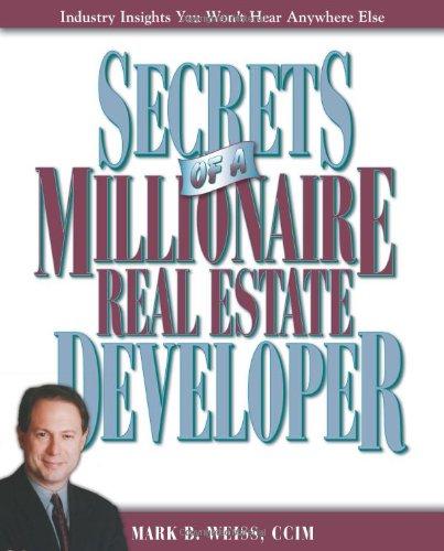9780793193585: Secrets of a Millionaire Real Estate Developer