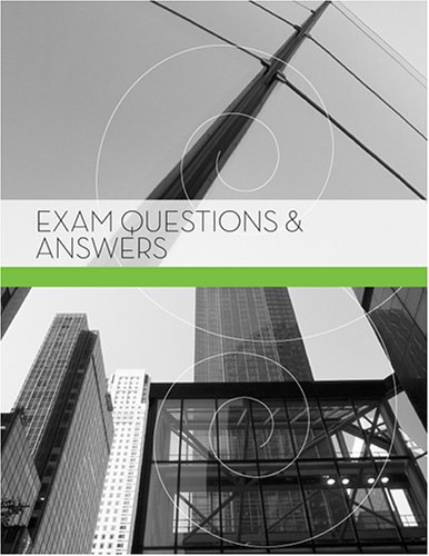 Exam Questions and Answers: Kaplan AEC Education