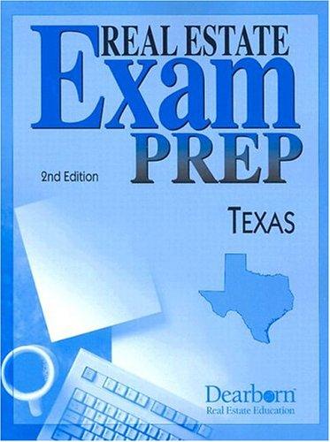 9780793194490: Real Estate Exam Prep Texas (Real Estate Exam Preparation)