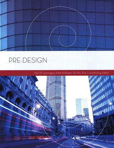 9780793194735: Pre-Design