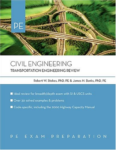Civil Engineering: Transportation Engineering Review (0793195624) by James Banks