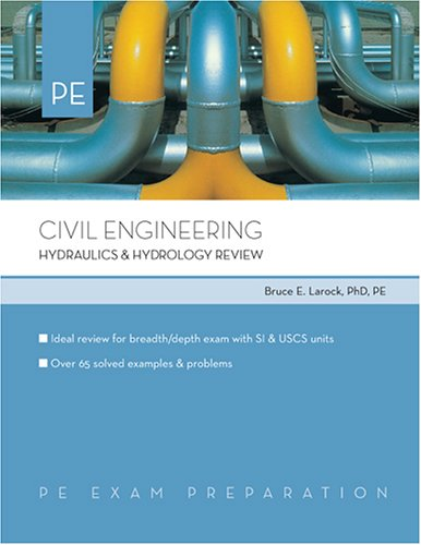 9780793195640: Civil Engineering: Hydraulics & Hydrology Review