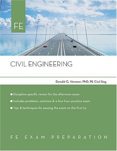 9780793195671: Civil Engineering: FE Exam Preparation