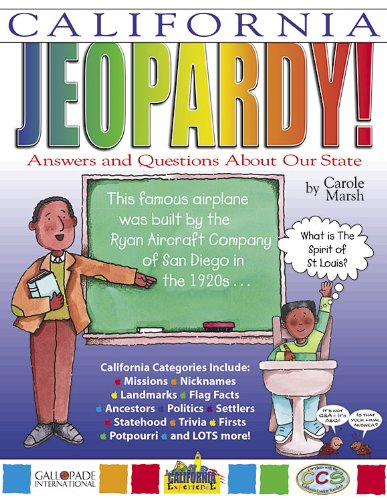 9780793395040: California Jeopardy!: Answers and Questions About Our State! (California Experience)