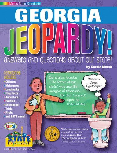 9780793395101: Georgia Jeopardy!: Answers and Questions About Our State! (Georgia Experience)