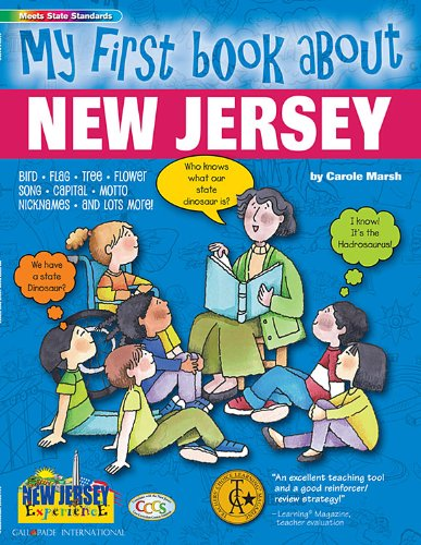 9780793395217: My First Book About New Jersey (The New Jersey Experience)