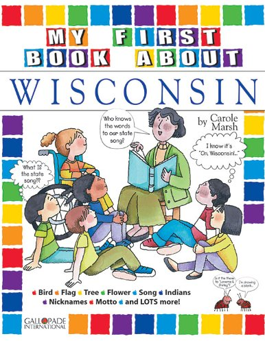 9780793395392: My First Book About Wisconsin! (Wisconsin Experience)