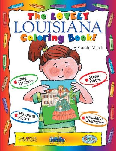 9780793395514: The Lovely Louisiana Coloring Book! (Louisiana Experience)