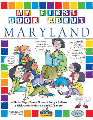 9780793396115: My First Book About Maryland! (Maryland Experience)