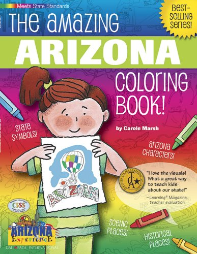 9780793398492: The Awesome Arizona Coloring Book! (Arizona Experience)