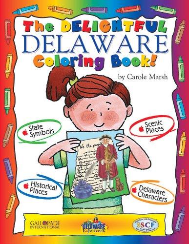 9780793398515: The Delightful Delaware Coloring Book