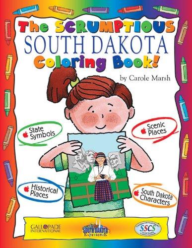 9780793398690: The Sensational South Dakota Coloring Book! (South Dakota Experience)
