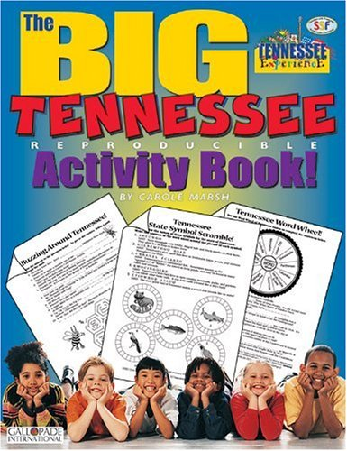 The Big Tennessee Reproducible Activity Book!: Marsh, Carole