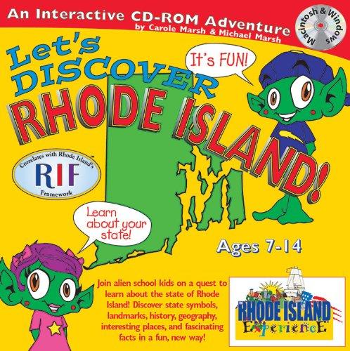 Discover Rhode Island (The Rhode Island Experience): Carole Marsh; Kathy Zimmer