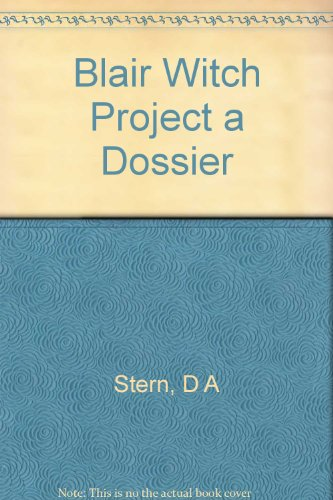9780793405589: Blair Witch Project a Dossier