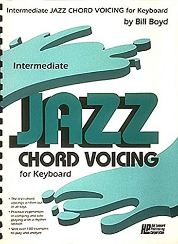 9780793500567: Intermediate Jazz Chord Voicing for Keyboard