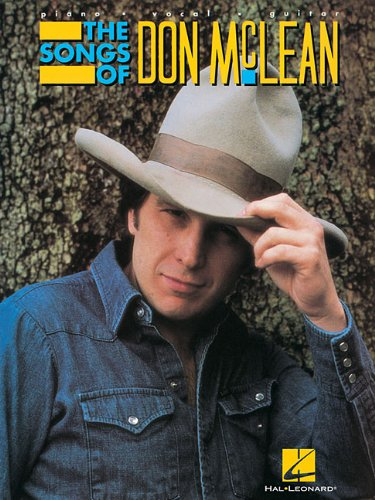 The Songs of Don McLean: Piano/Vocal/Guitar (0793500702) by McLean, Don