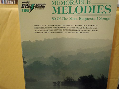 MEMORABLE MELODIES 50 of the Most Requested: listed, None