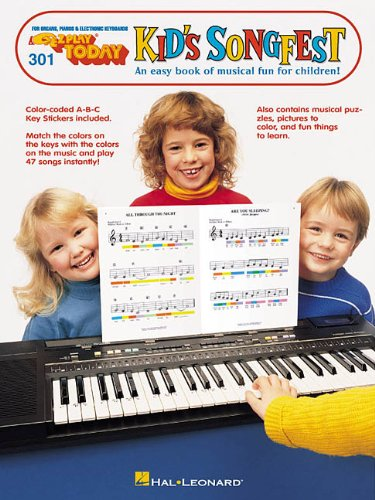 9780793502332: EZ-Play Today #301: Kid's Songfest