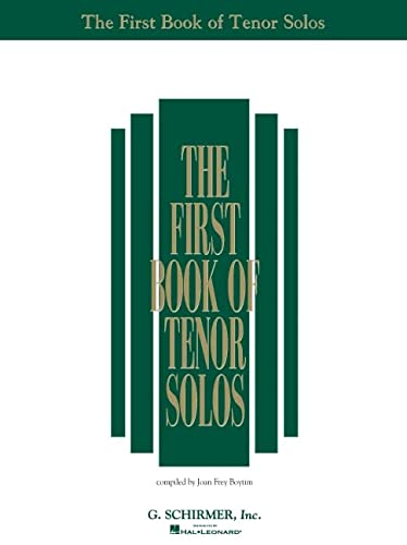 9780793503667: The First Book of Tenor Solos