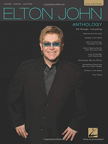 9780793503698: Elton John - Anthology: For Piano, Voice and Guitar (Pvg)