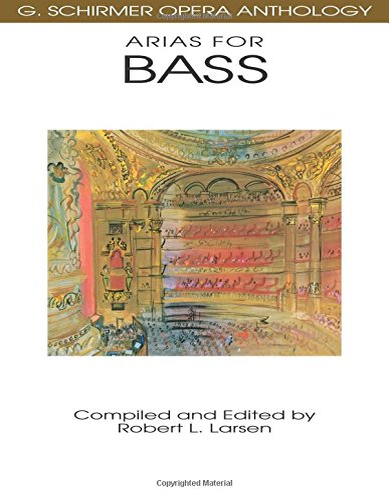 9780793504046: Arias for Bass: G. Schirmer Opera Anthology