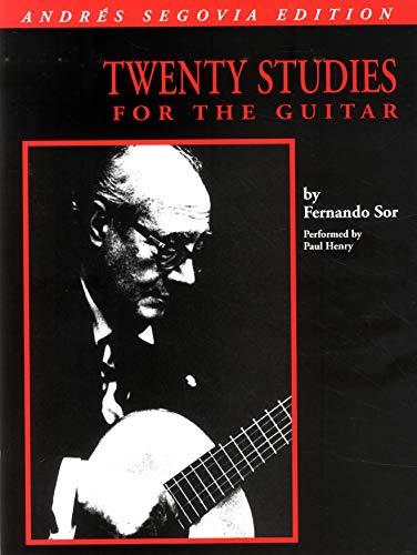 9780793504367: Twenty Studies for the Guitar/Andres Segovia/Hl6362