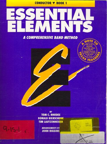 9780793504671: Essential Elements Book 1 - Conductor Conductor